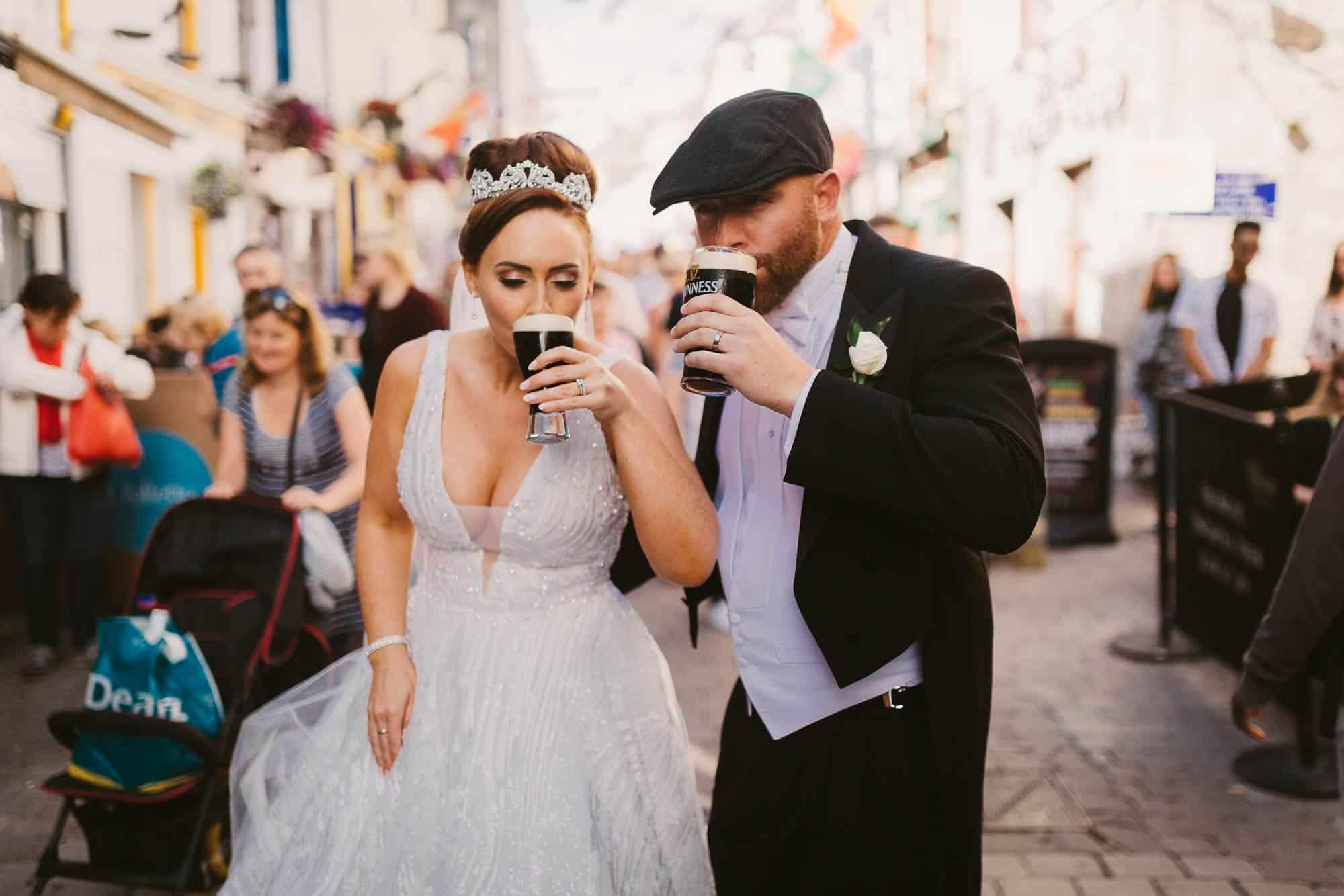 Wedding photography Ireland Drink