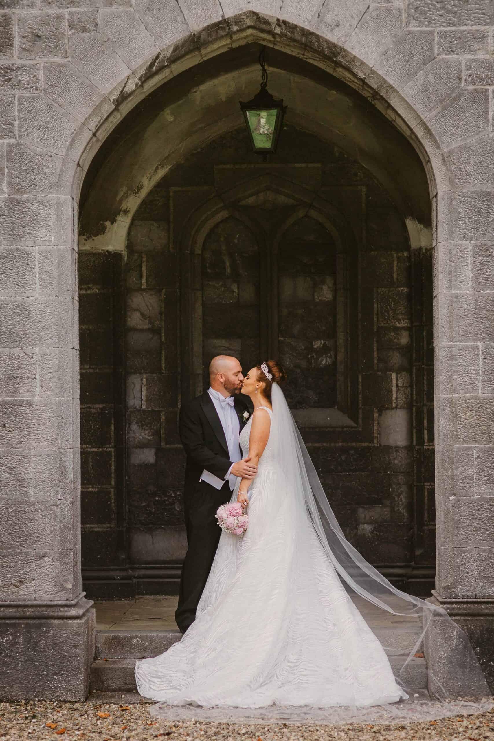 Wedding photography Ireland First Kiss