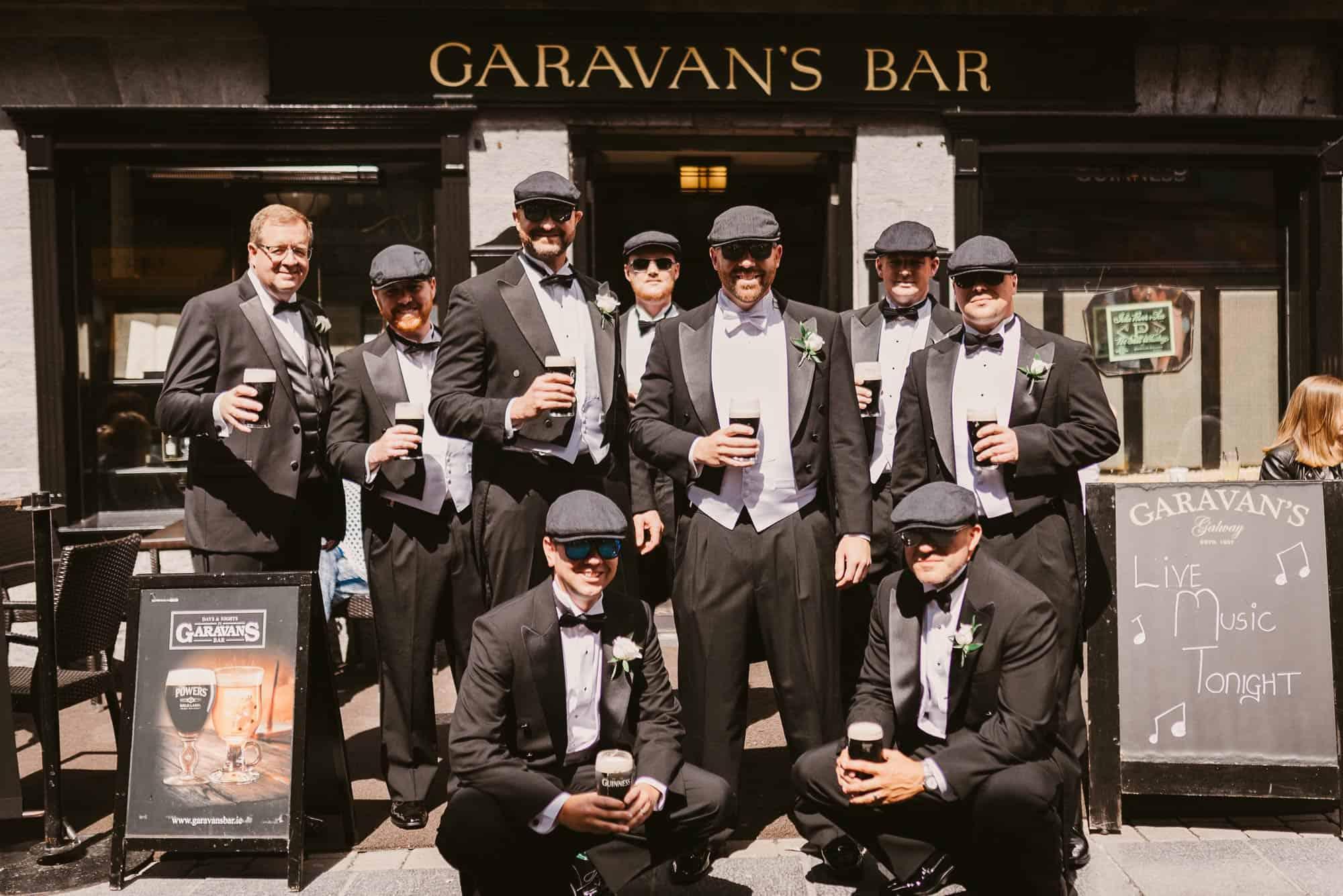 Wedding photography Ireland Galway Pub