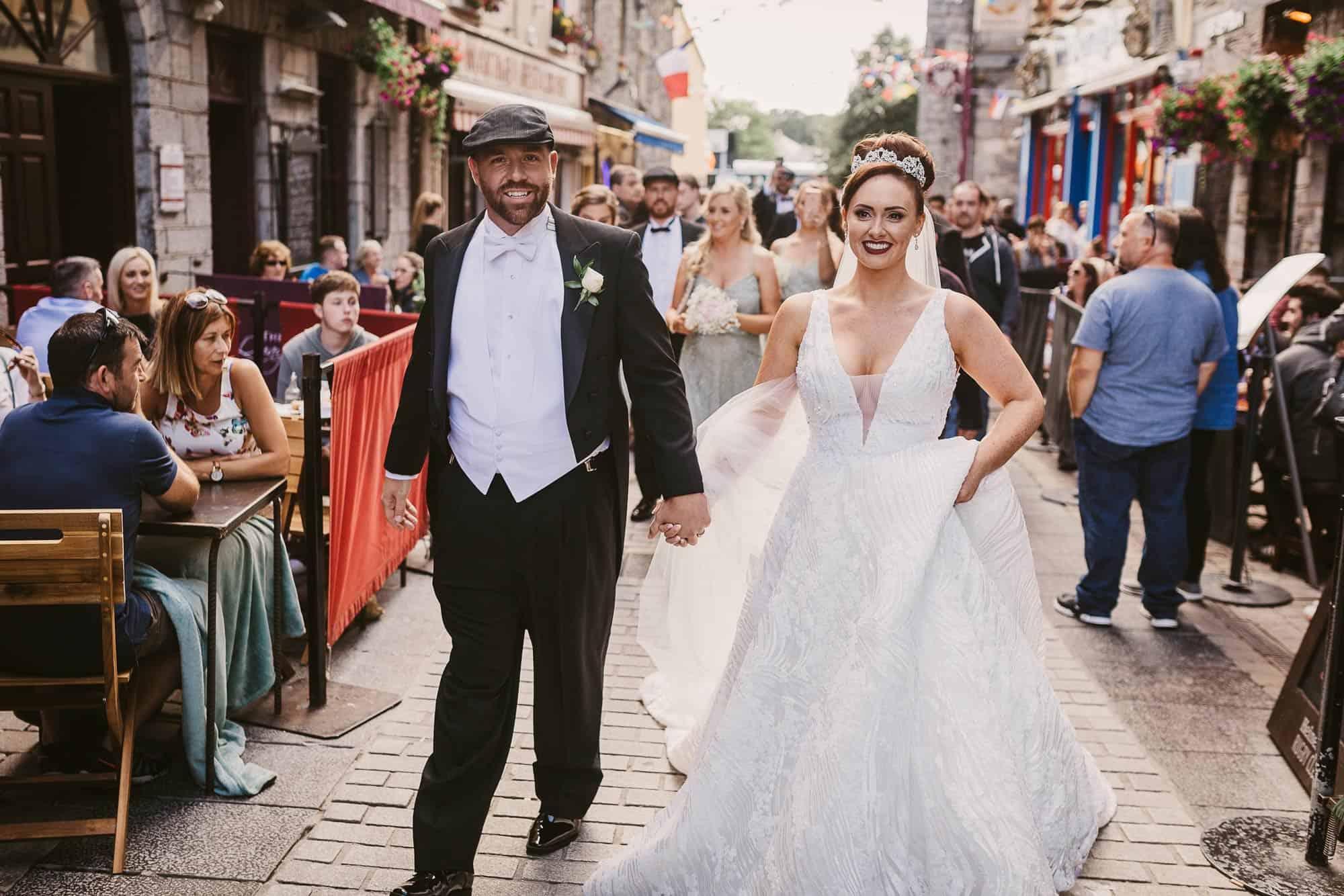 Wedding photography Ireland Galway Town