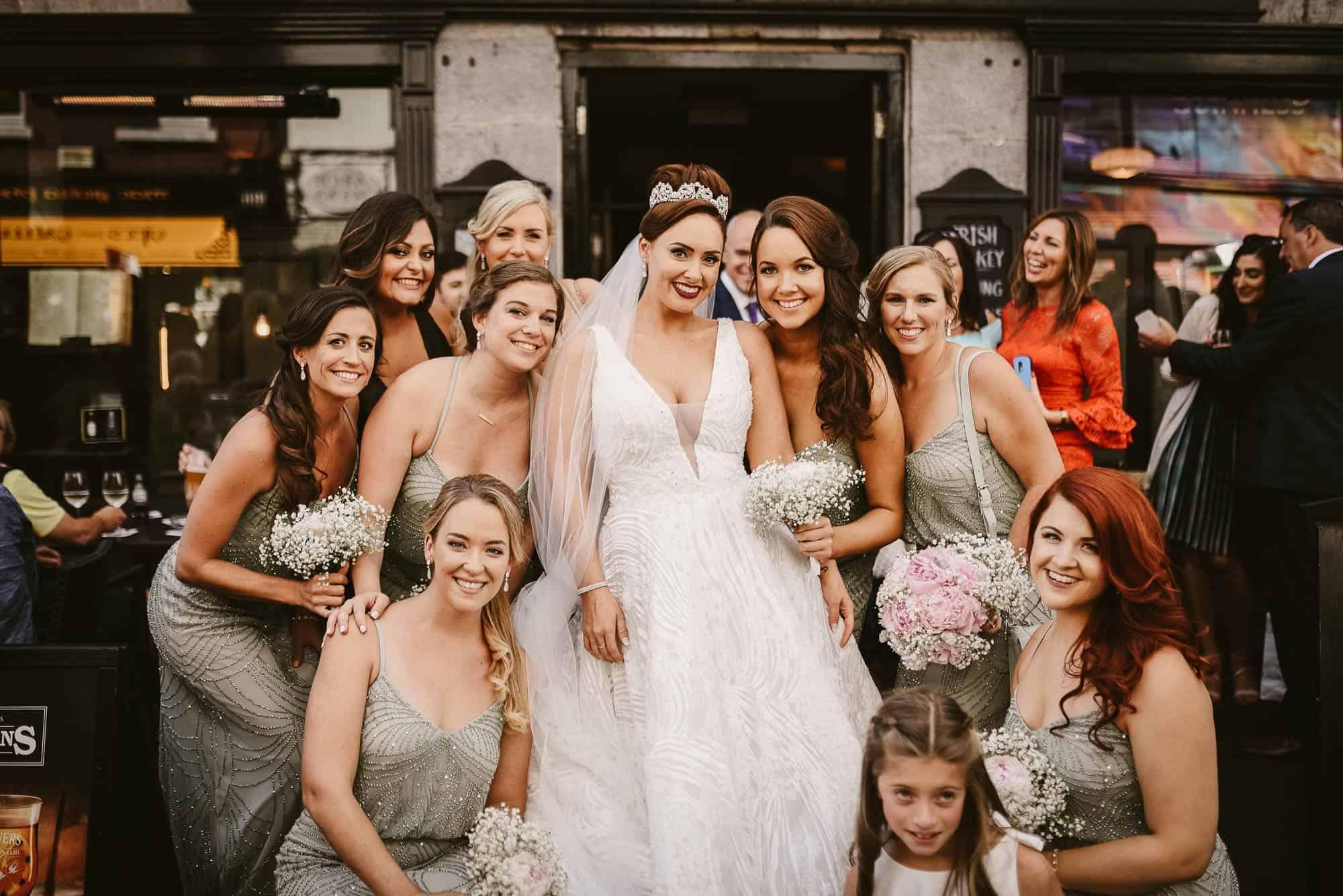 Wedding photography Ireland Girls just wanna have fun