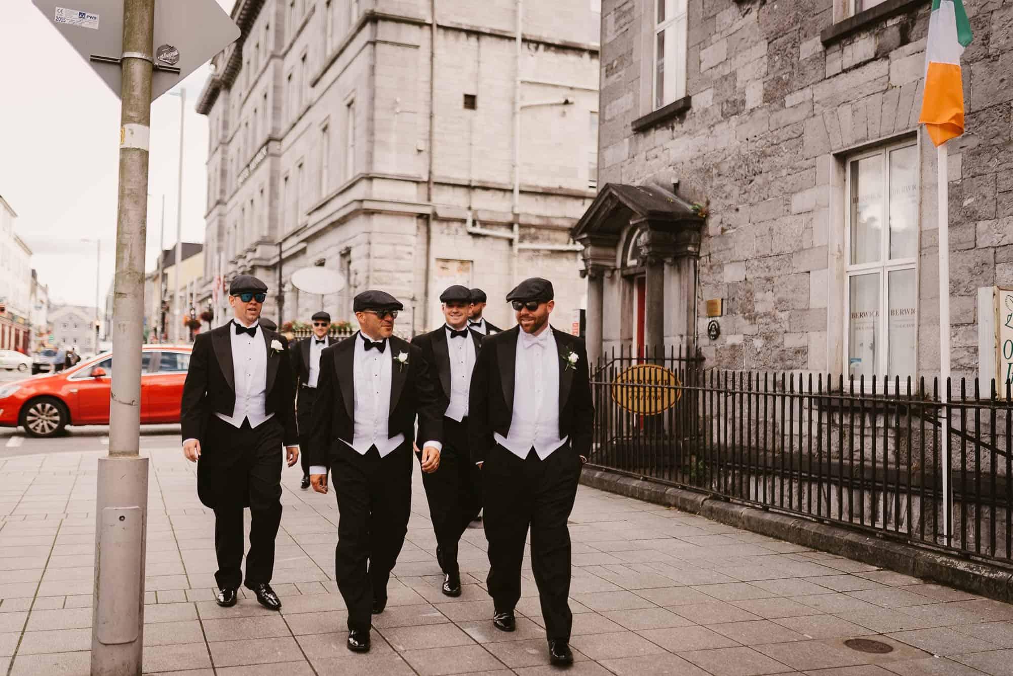 Wedding photography Ireland Groomsmen