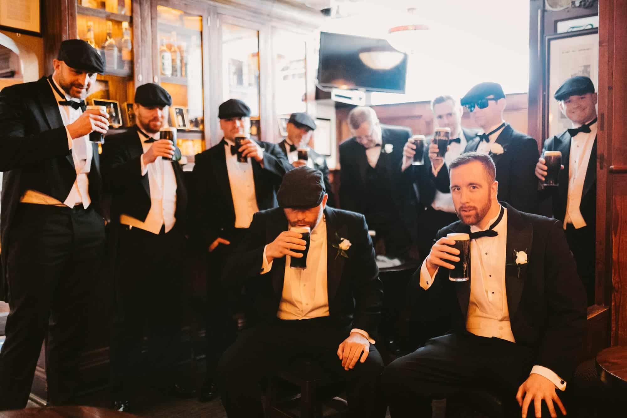 Wedding photography Ireland Guinness