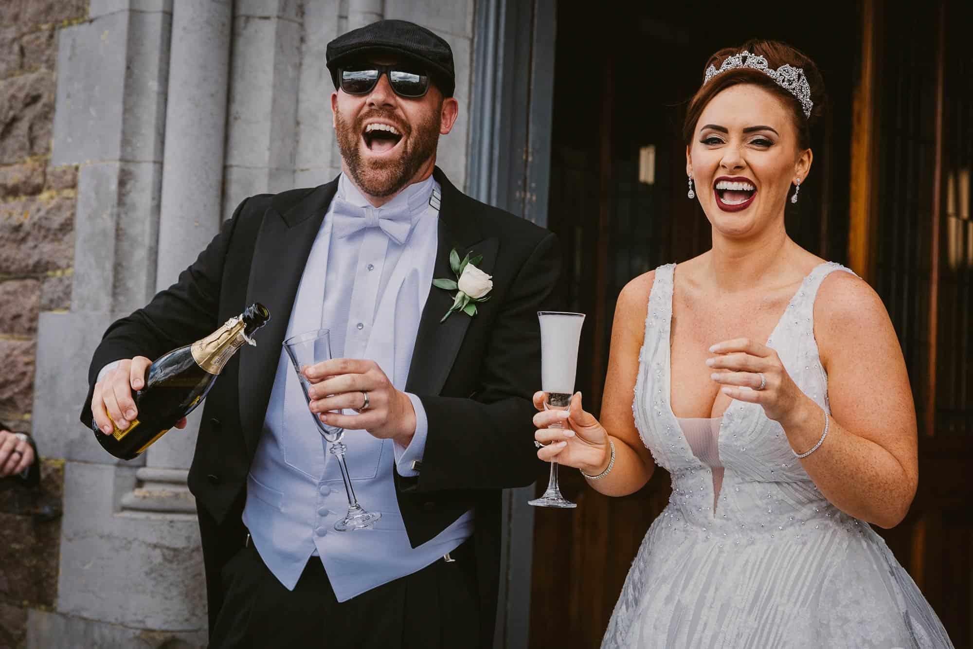 Wedding photography Ireland Happy
