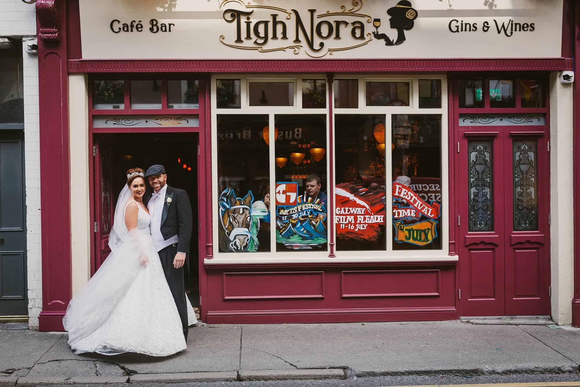 Wedding photography Ireland Irish Pub