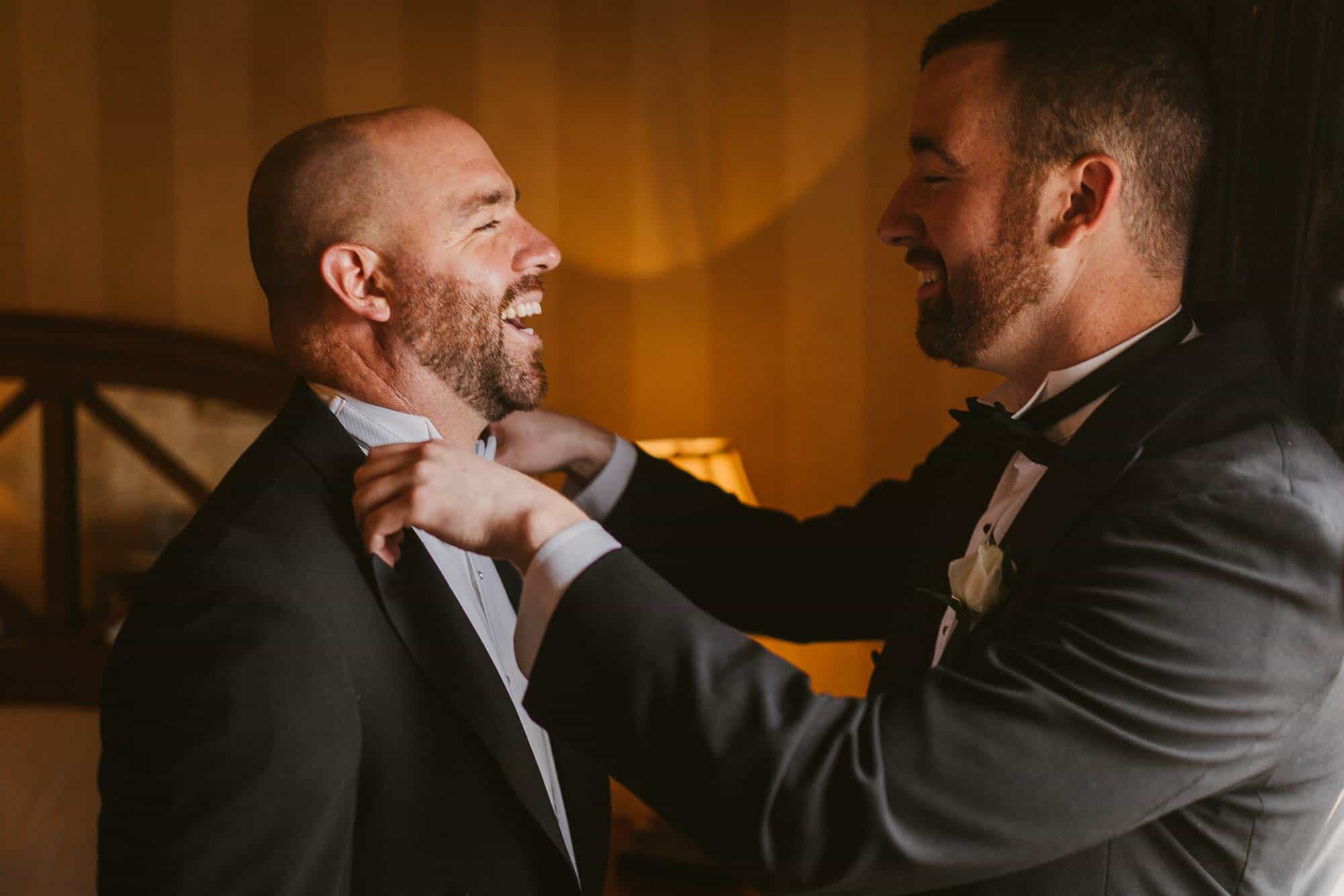 Wedding photography Ireland Prep Fun