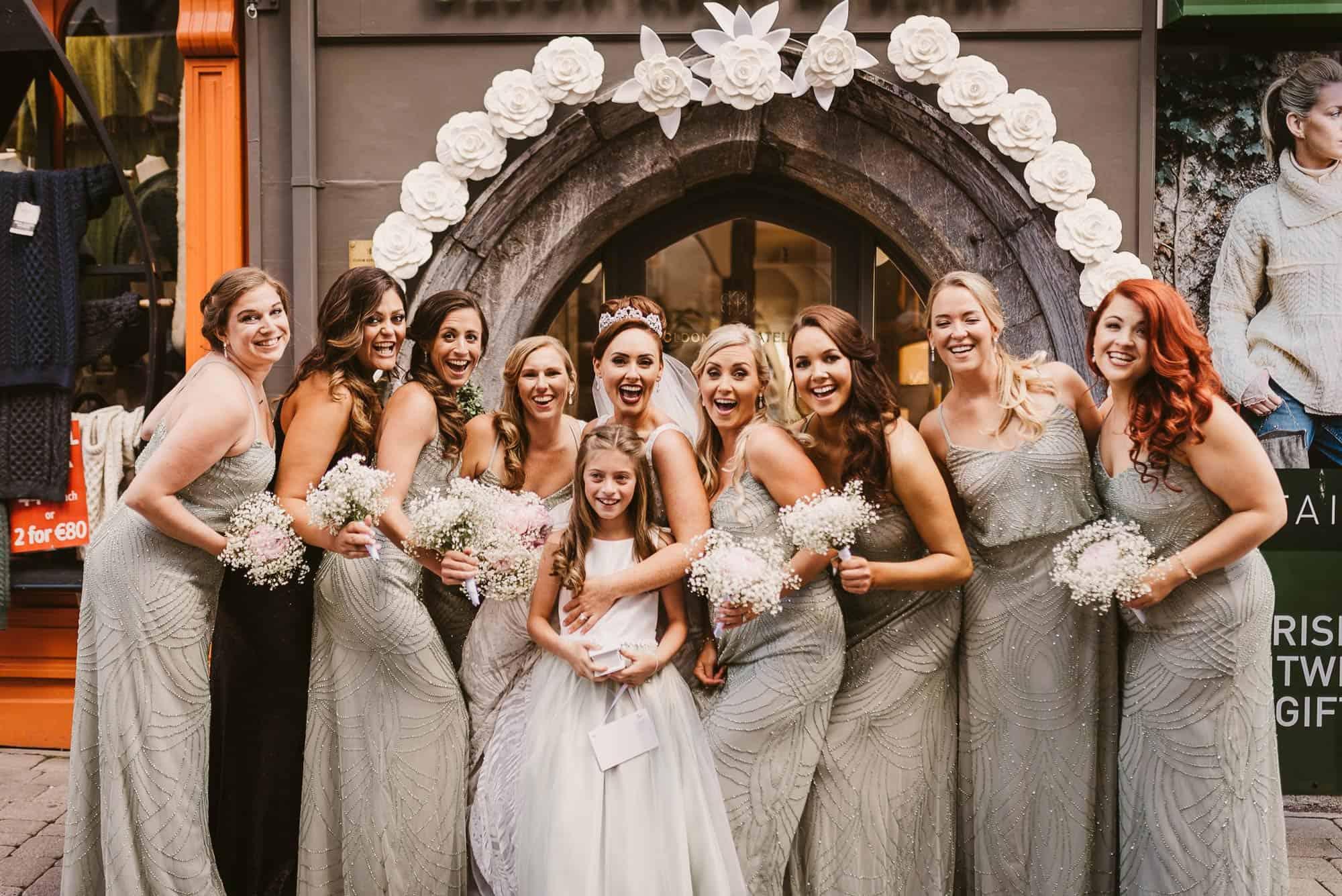 Wedding photography Ireland The Girls
