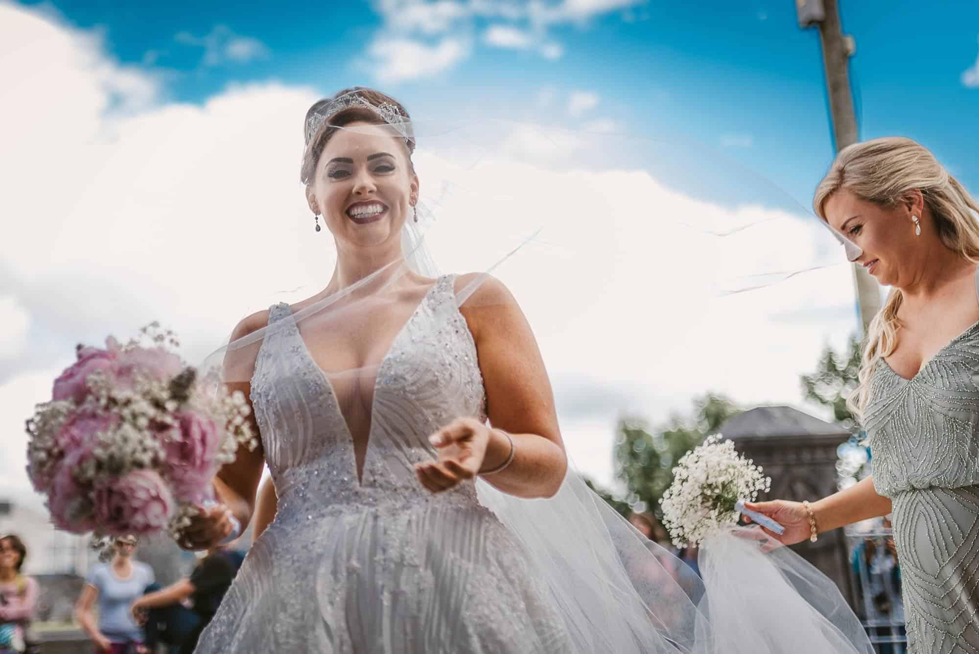 Wedding photography Ireland Wedding Veil