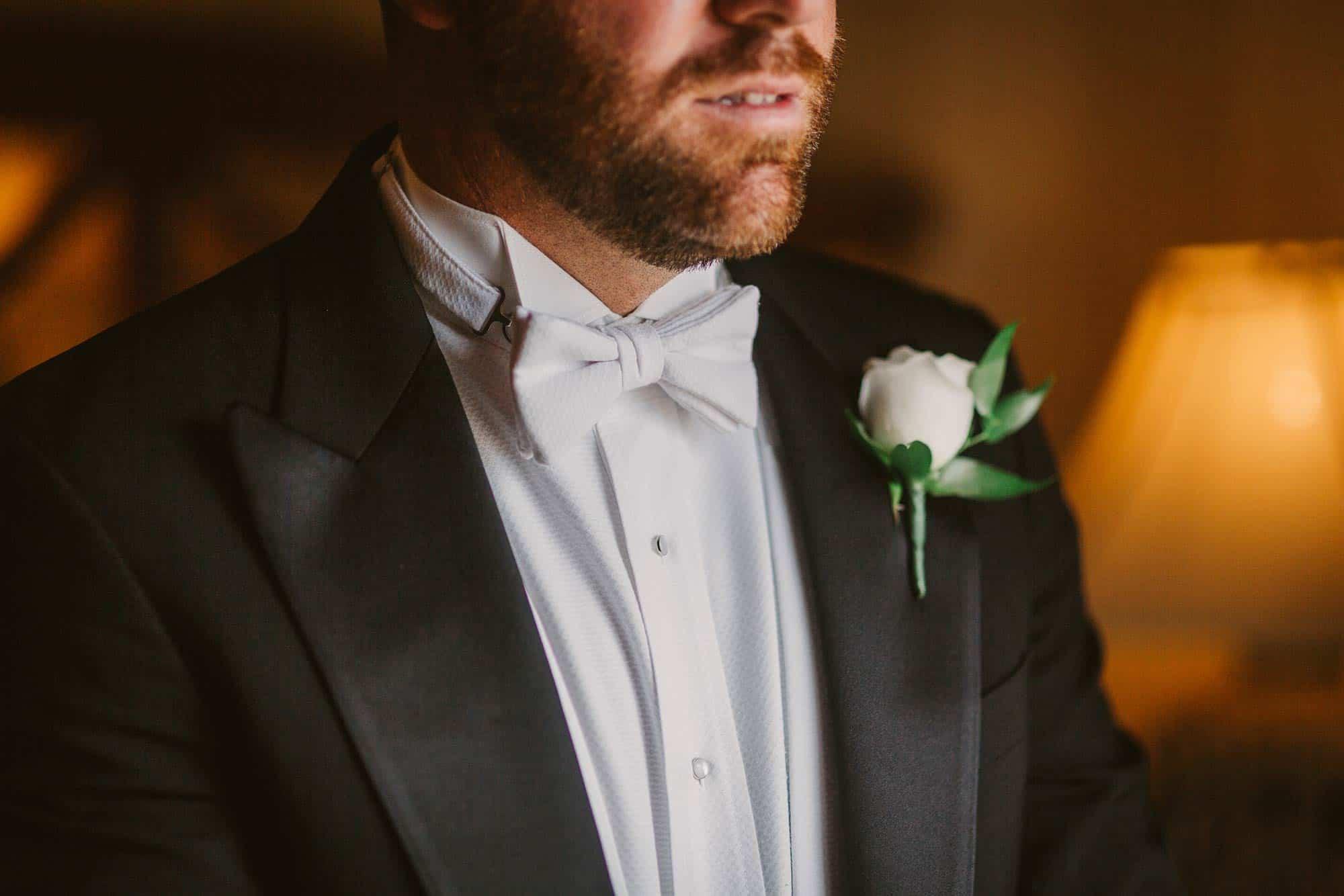 Wedding photography Ireland White Tie